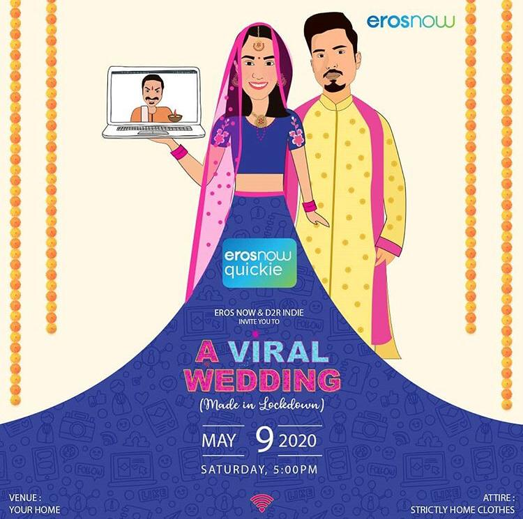 Eros Now's 'A Viral Shaadi' A Webseries Shot Amidst Lockdown To Start Streaming Today!