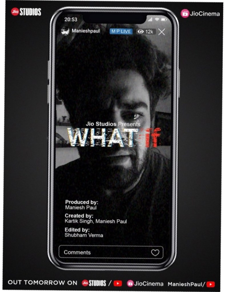 Maniesh Paul To Donate All Money Made From His New Short Film ''What If''