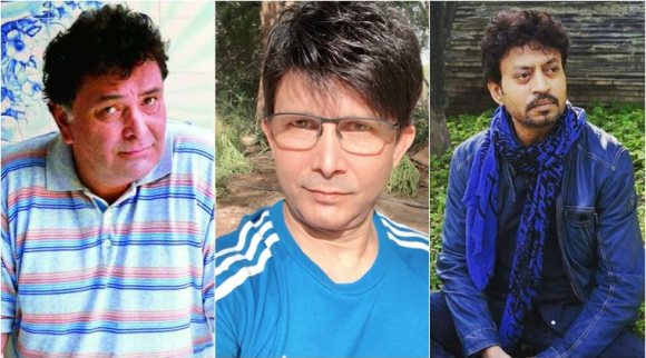 After Derogatory Comment On Late Rishi Kapoor & Irrfan Khan, FIR Registered Against Kamaal R Khan