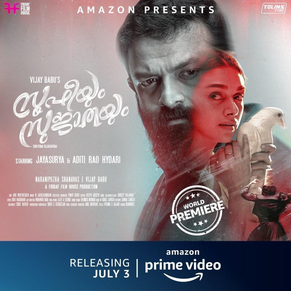 Amazon Prime Video Releases The Trailer Of Aditi Rao Hydari & Jayasurya's Upcoming Musical Romantic Drama, Sufiyum Sujatayum