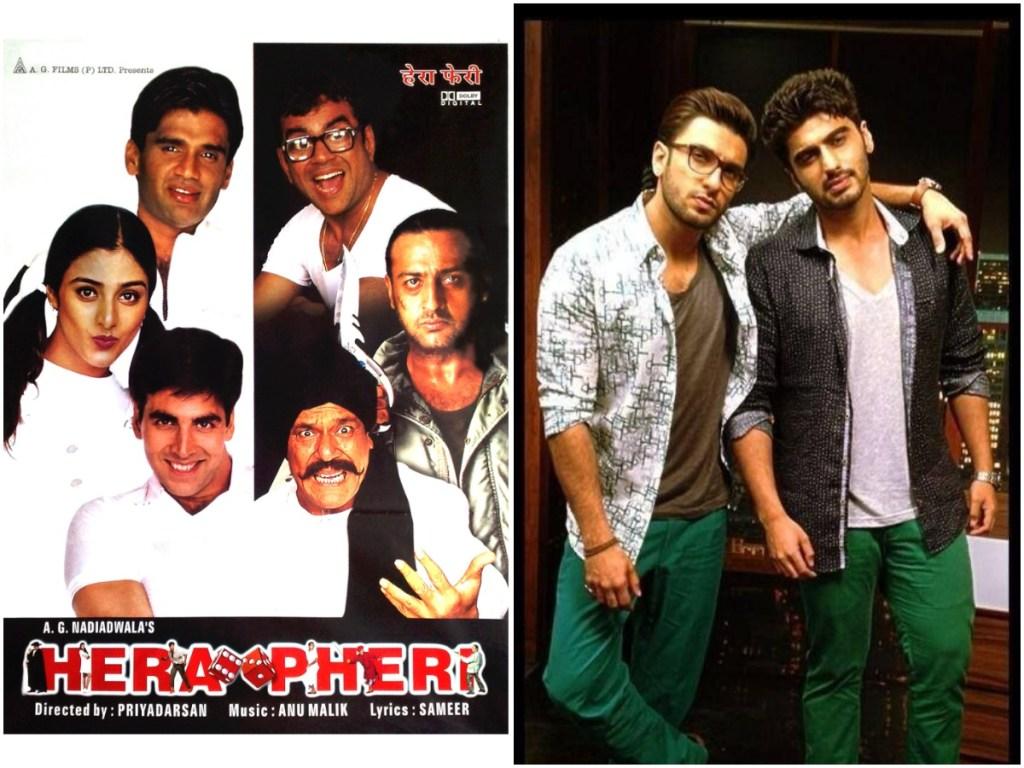 Arjun Kapoor Wishes To Work With Ranveer Singh In Hera Pheri Remake