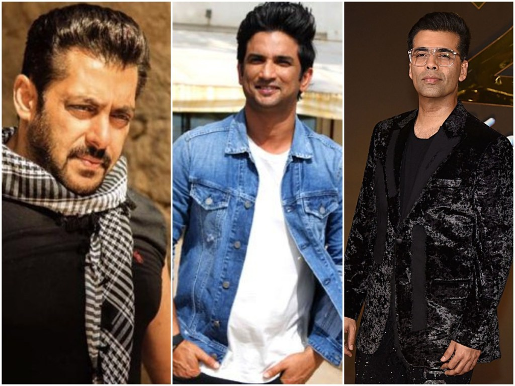 Patna People Blames Karan Kohar And Salman Khan For Sushant Singh Rajput's Death, Burns Their Effigies