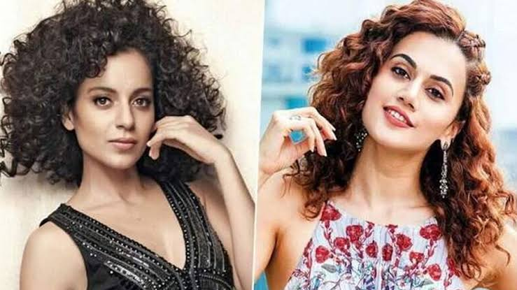 """""""It's disheartening to see someone making a mockery out of outsiders and the industry that has given us so much"""", Says Taapsee Pannu On Kangana Ranaut's Recent Statements"""