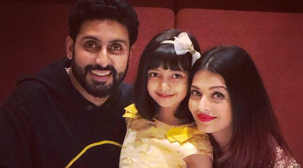 Abhishek Bachchan Tweets About Aishwarya & Aaradhya Being Quarantined At Their Residence