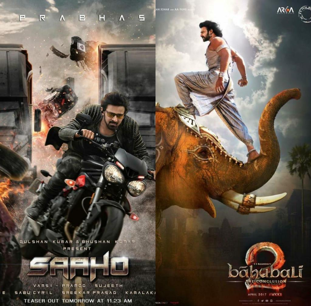 Did You Know THIS Fact About Prabhas' Last Two Releases Baahubali 2 & Saaho?