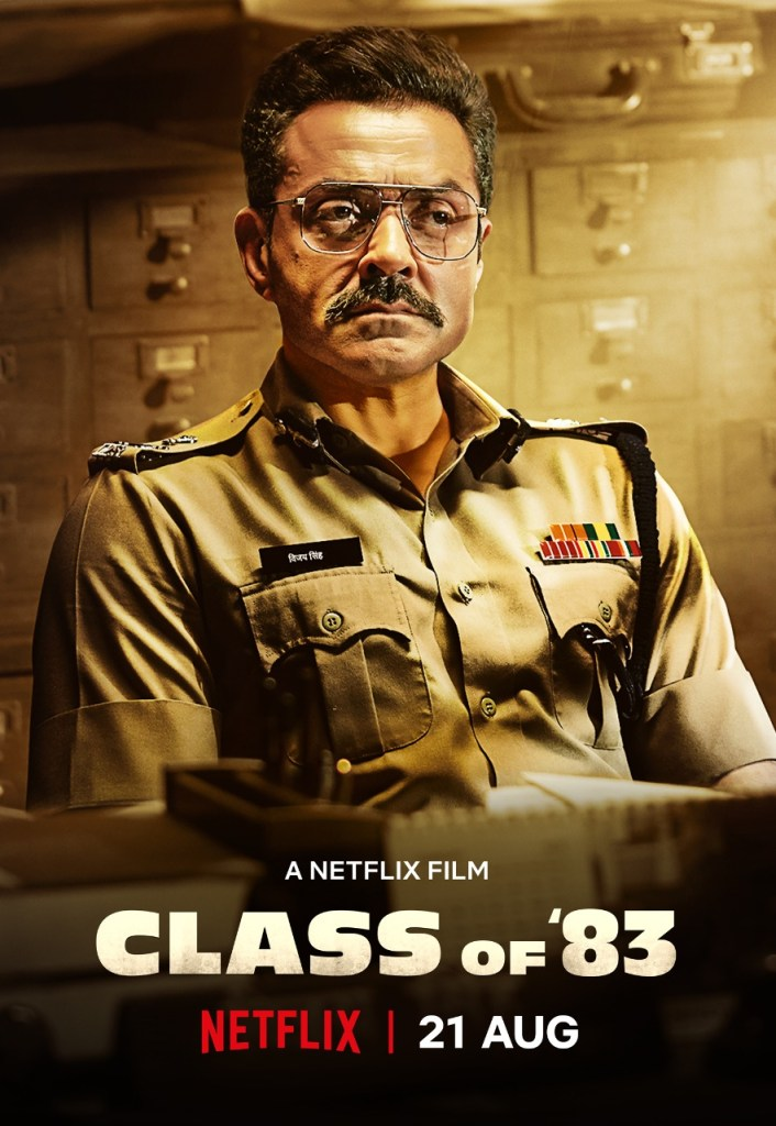 The Trailer Of Shah Rukh Khan's Class Of 83 Starring Bobby Deol Will Be Out Tomorrow!