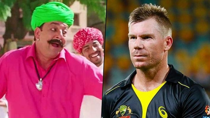 Cricketer David Warner Dances On The Hook Step Of Sanjay Dutt's Character From The Film, PK