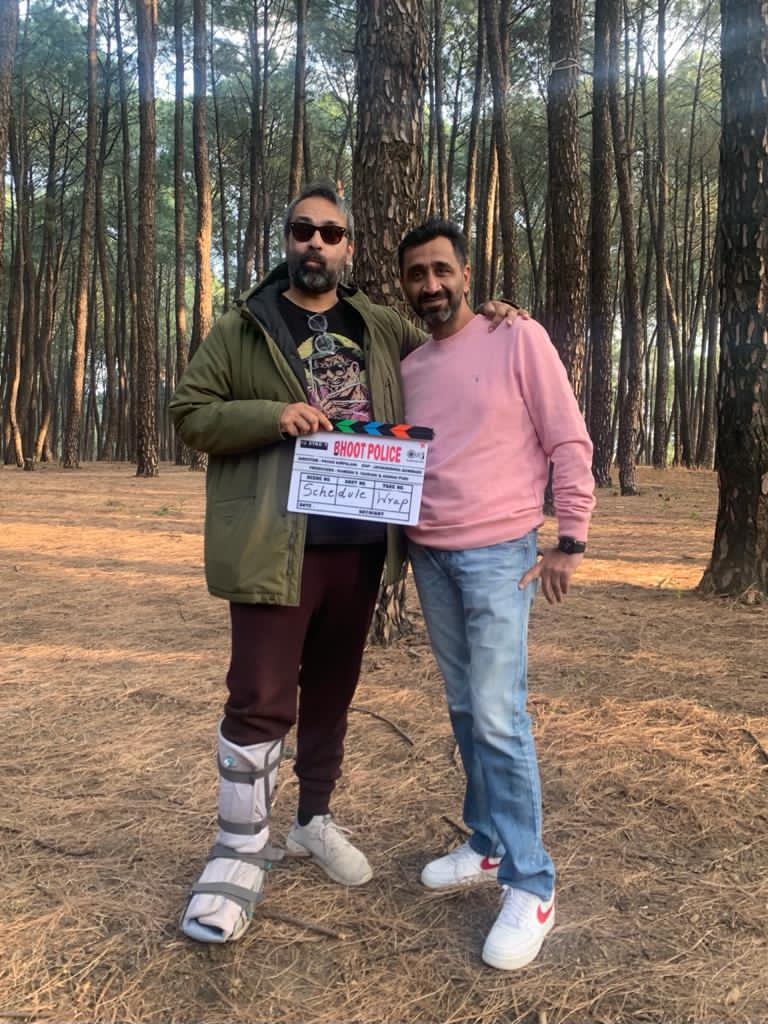 Its A Wrap For The First Schedule Of Dharamshala For Team 'The Bhoot Police'
