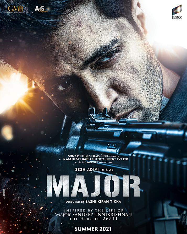 Capturing The Fierce Bravery Of Major Sandeep Unnikrishnan, Team Major Unveils The First Look Poster