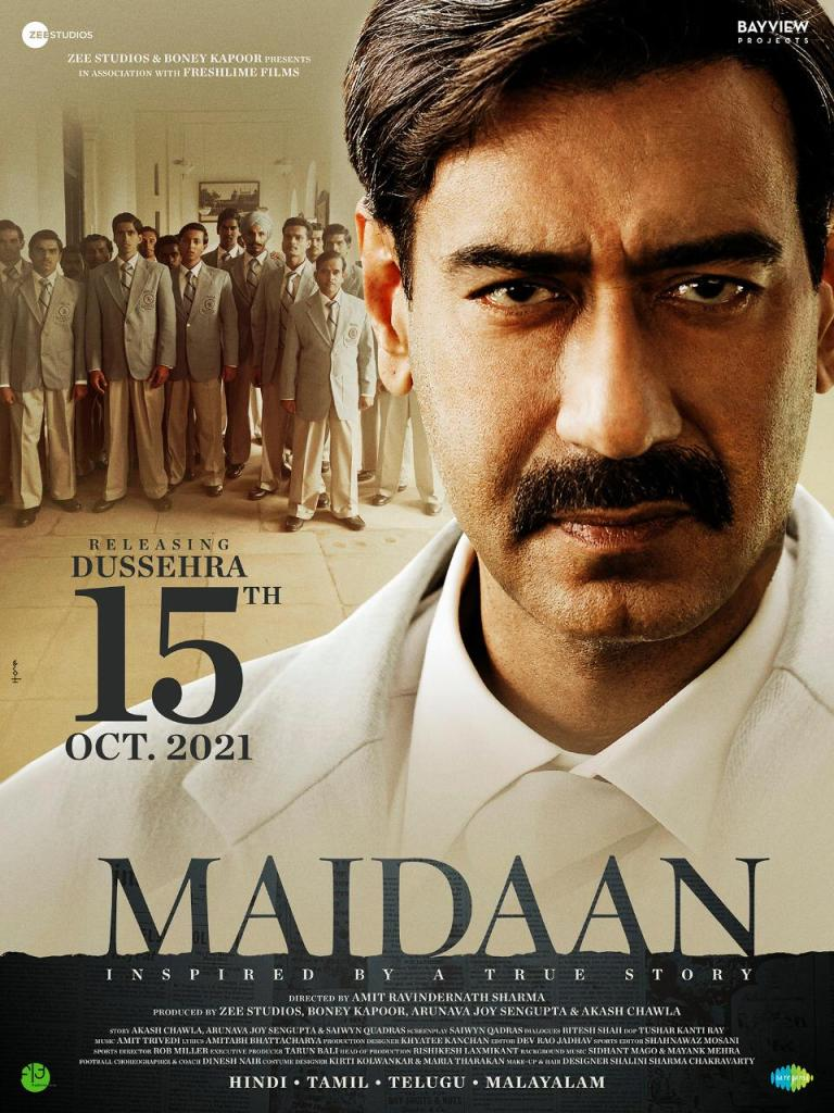 Ajay Devgn Starrer 'Maidaan' To Now Release On Dussehra 2021