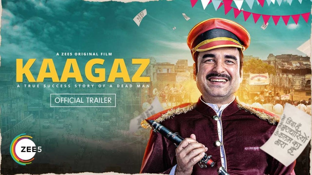 Pankaj Tripathi Starrer Kaagaz Trailer Drops, Story Plays With Multiple Emotions