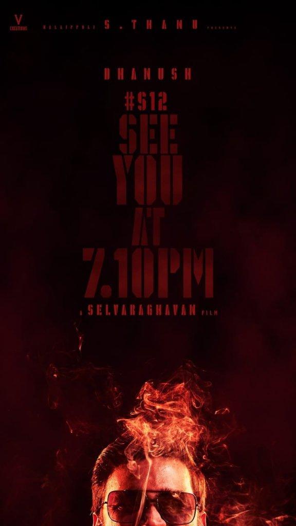 Title Look Poster Of Dhanush's S12 With Selvaraghavan REVEALED!