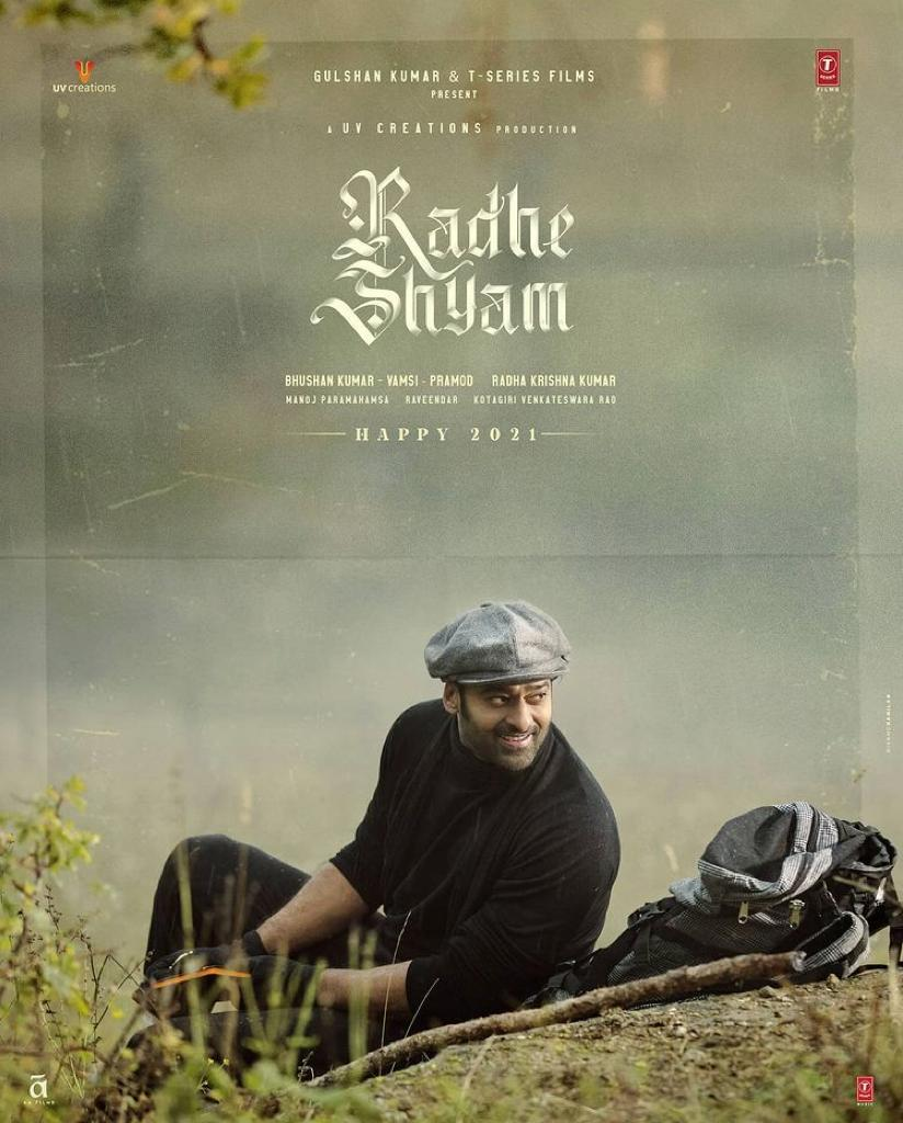 Fans Get A New Year Surprise As 2021 Starts with A Brand New Poster Of Radheshyam Featuring Prabhas