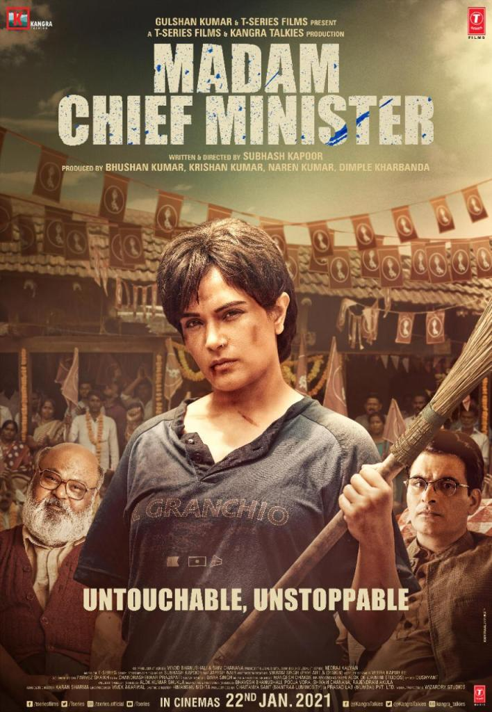 Check Out The Teaser Poster Of Richa Chadha In 'Madam Chief Minister', As An Untouchable, Unstoppable Force!