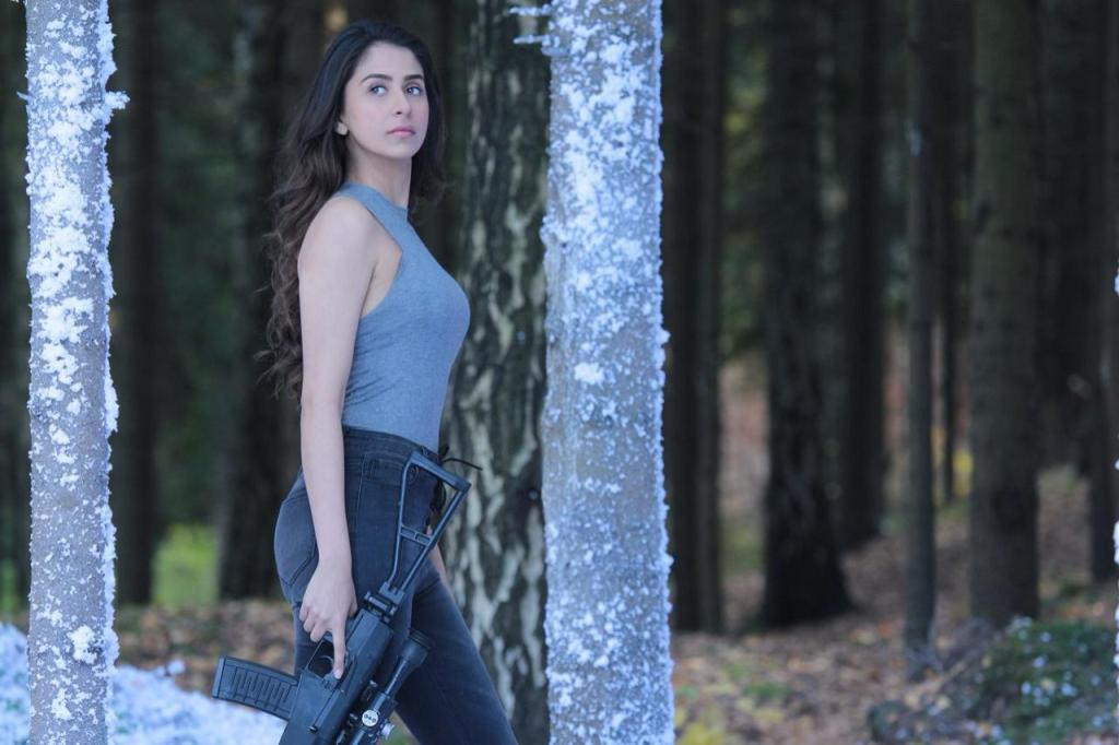 Malvika Raaj Looks Incredibly Promising In The First Look Of Her Debut Film 'Squad'