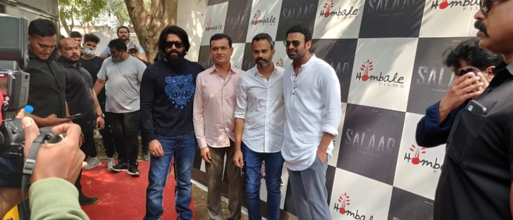 What could be more exciting then seeing both Prabhas and Yash in one frame.