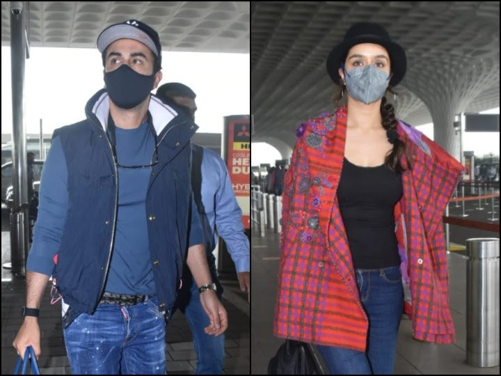 Luv Films Upcoming To Go On Floors Soon, Ranbir Kapoor & Shraddha Kapoor Spotted At The Airport As They Take A Flight To Delhi