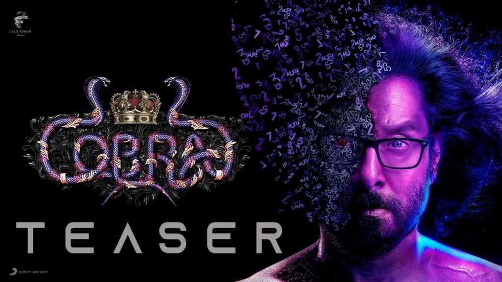 Cobra Teaser: Vikram's Film Looks Like A Twisted Thriller