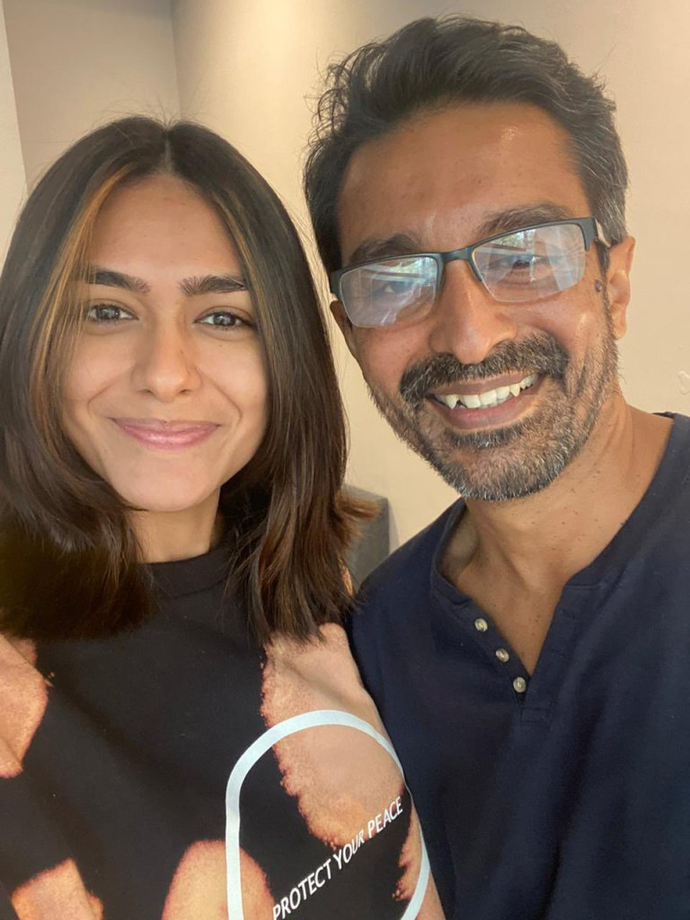 Mrunal Thakur Kicks Off Shooting For Her Upcoming Next Pippa With A Look Test!