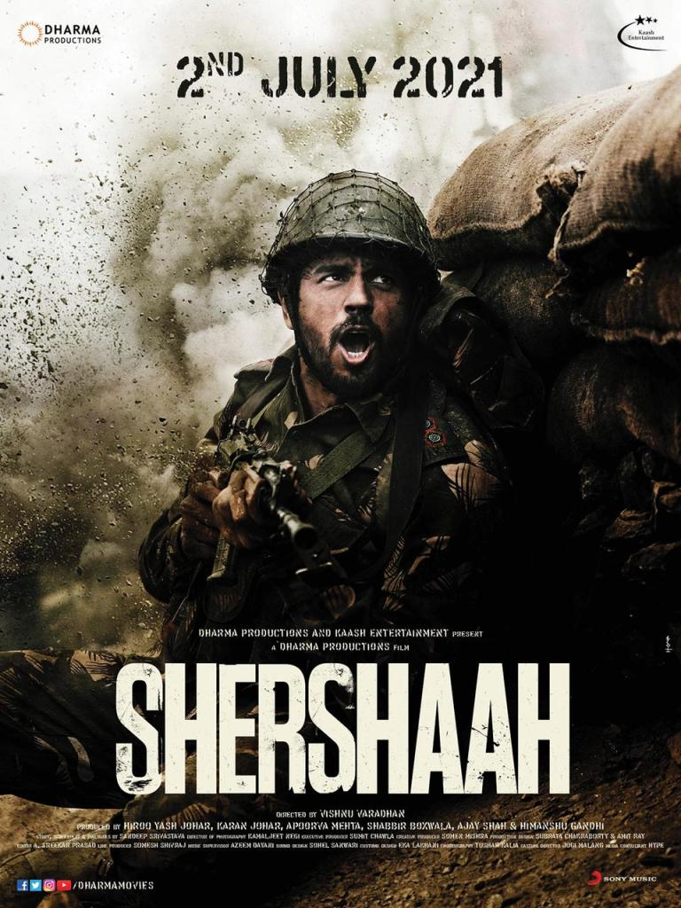 Sidharth Malhotra's Shershaah Is Releasing In The Theatres On 2nd July, 2021