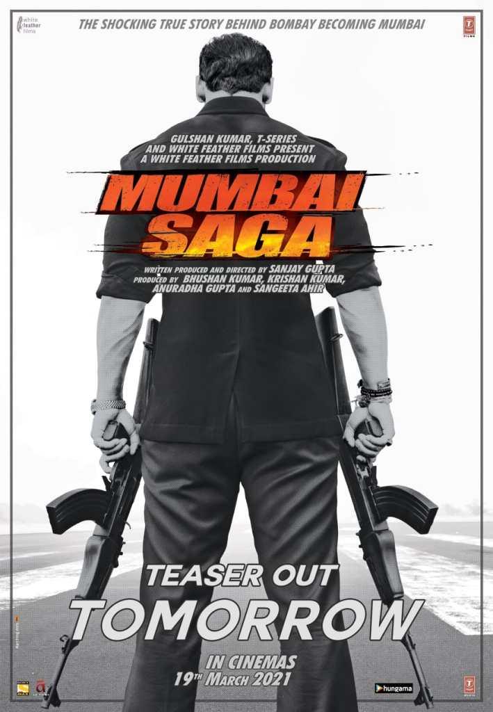 Mumbai Saga: Check Out The New Poster Of John Abraham & Emraan Hashmi Starrer, Teaser Will Be Out Tomorrow!