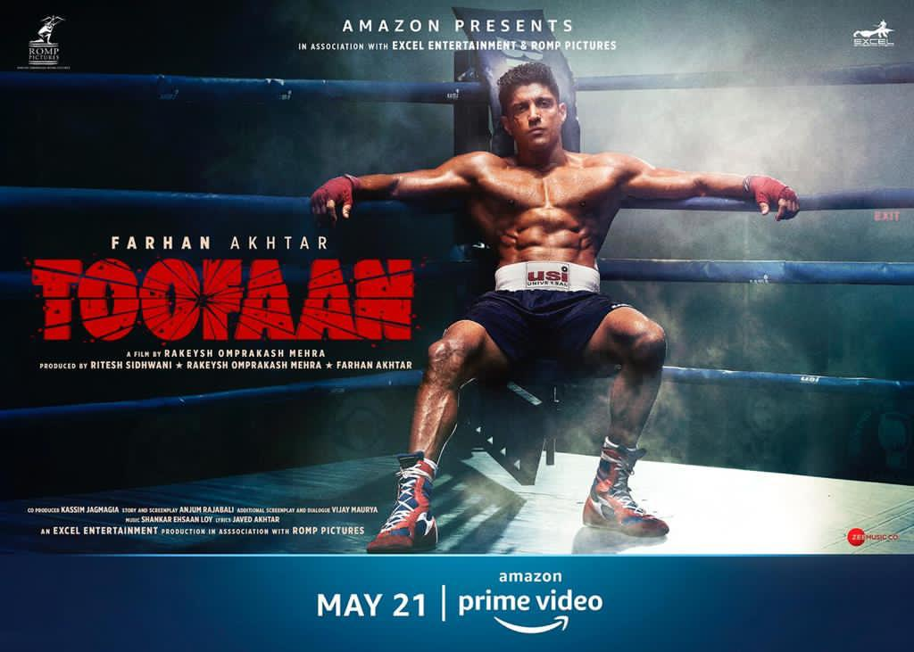 NEW POSTER: Check Out The Newest Smashing Poster Of Farhan Akhtar's Toofaan!