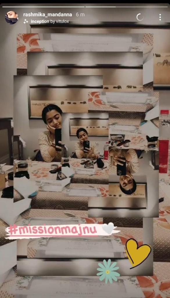 Mission Majnu: Rashmika Mandanna Gives A Sneak Peek Of Her Look From Her Upcoming Bollywood Debut Film Also Starring Sidharth Malhotra