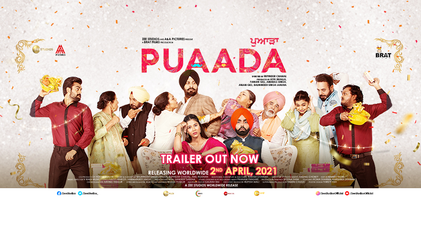 The much-awaited trailer of Ammy Virk and Sonam Bajwa starrer Puaada is out now!