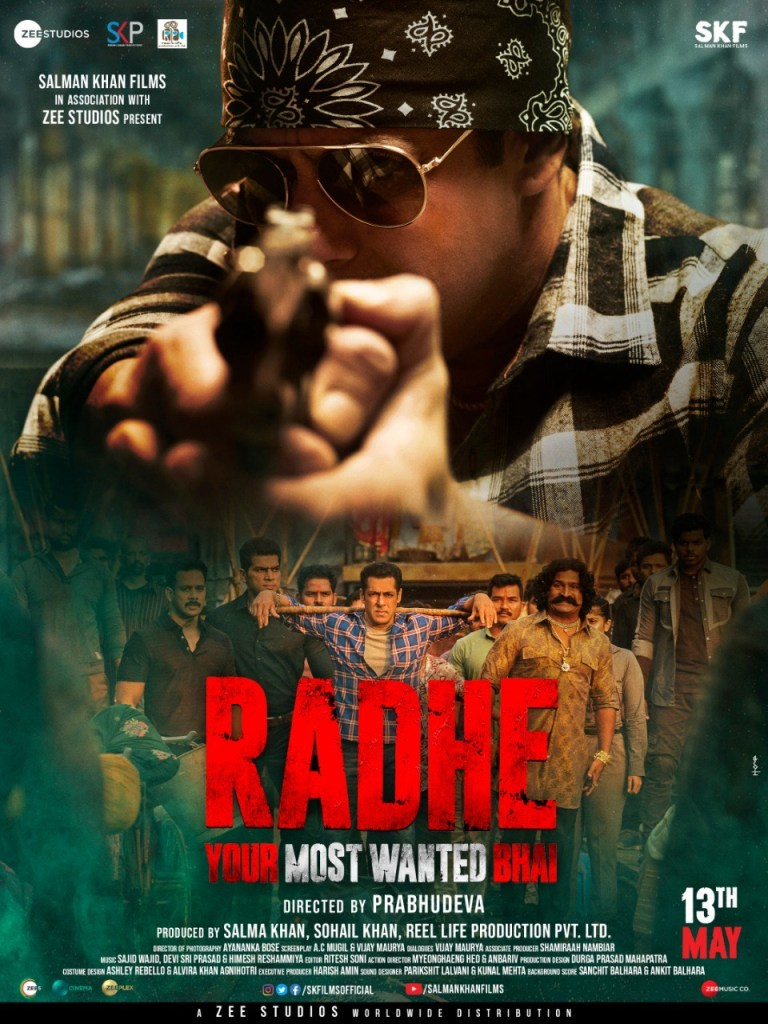 NEW POSTER OUT: The Trailer Of Salman Khan's Radhe: Your Most Wanted Bhai Will Be Out Today At 11 Am