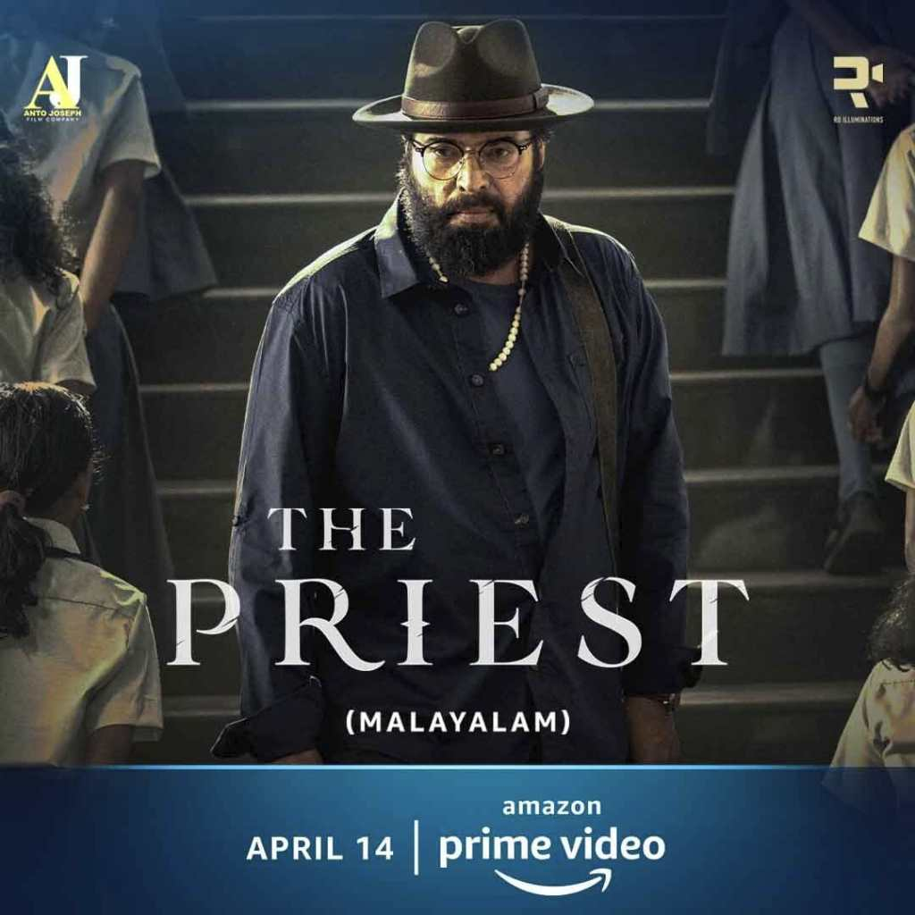 Mammootty Starrer Horror-Suspense Drama - The Priest To Have A Digital Premiere On Amazon Prime Video