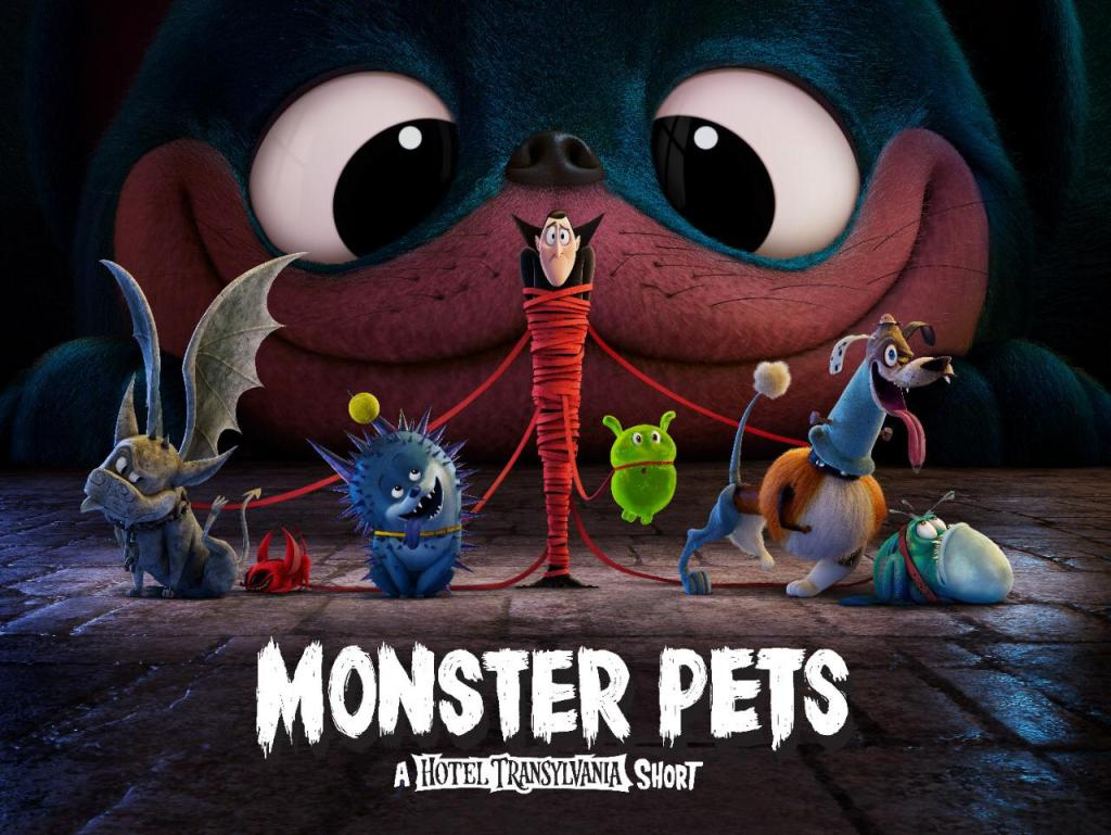Sony Pictures Animation Launches Monster Pets, A New Hotel Transylvania Short Film!