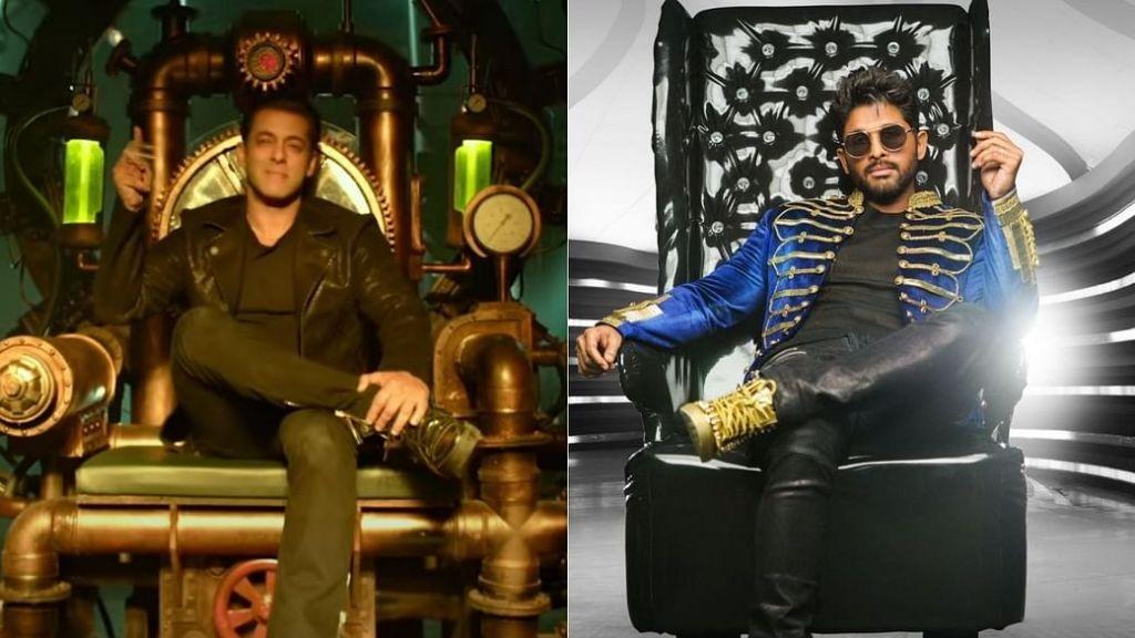 Radhe:Your Most Wanted Bhai: Salman Khan Thanks Allu Arjun For The Song, Seetimaar, The South Superstar Responds!