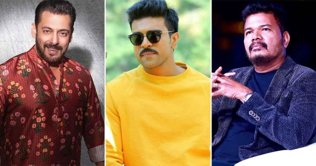 Salman Khan To Come On Board With Ram Charan & Shankar To Play A Cop In RC 15!