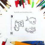 printable-preview-baby-fish-seahorse-and-lion-Animal-adults-and-Kids-Drawings-for-Inclusive-DIY-Modern-Fathers-Day-Card-by-box-of-ideas-06