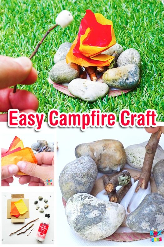 Easy-miniature-camprife-rock-craft-with-nature-and-paper-artrs-and-crafts-project-by-box-of-ideas