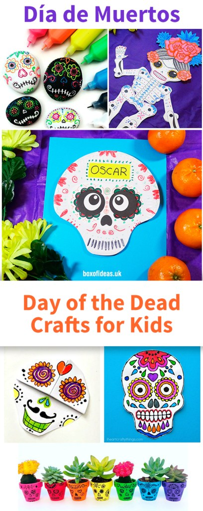 #dayofthedead diademuertos #diadelosmuertos #mexicandayofthedead #mexicancrafts #sugarskulls Day of the Dead Activities for Kids