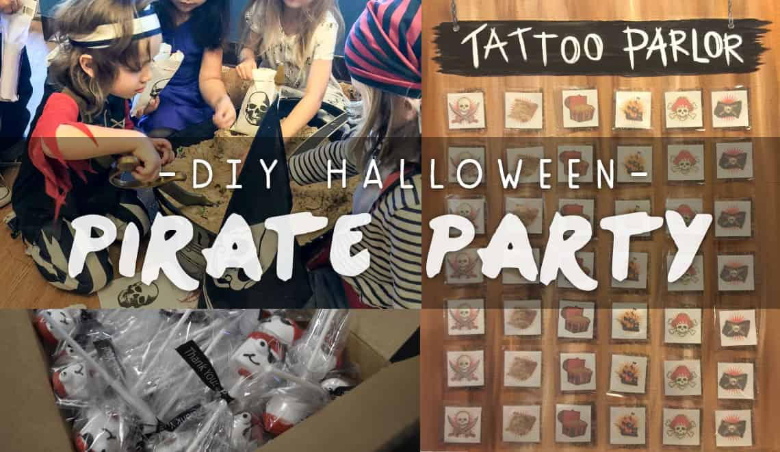 DIY Halloween Pirate Party Ideas