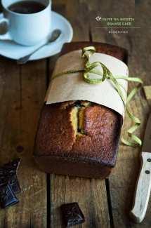 Ricotta and Olive Oil Orange Cake
