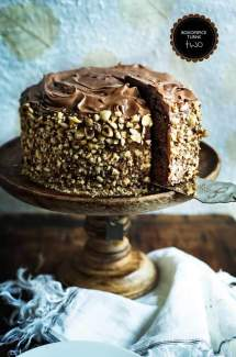Chocolate Kahlua Hazelnut Cake + BOXOFSPICE Turns Two