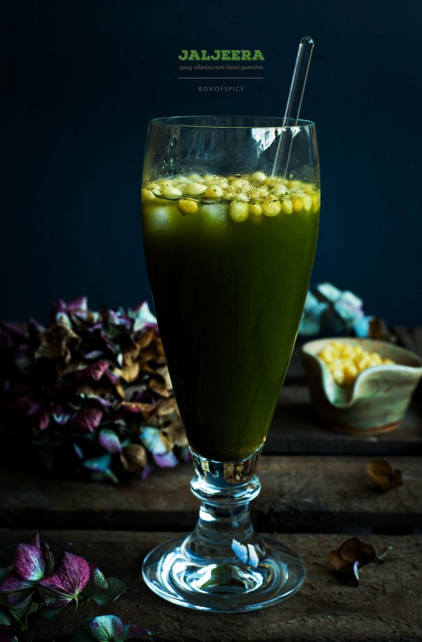 Jal Jeera / Spicy Cilantro Mint Thirst Quencher