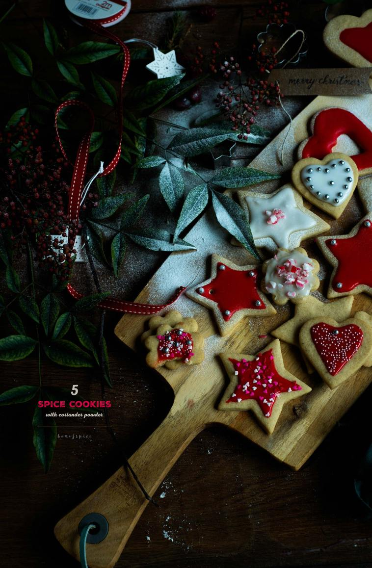 5 Spice Cookies I Boxofspice