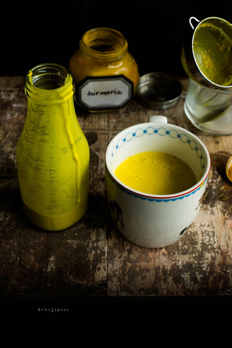 Turmeric Milk I Boxofspice
