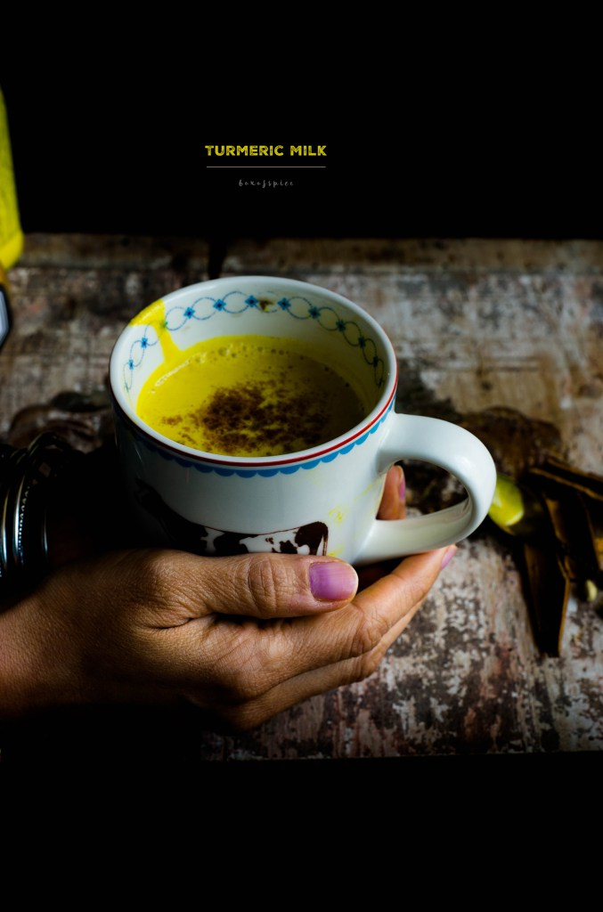 Vegan Turmeric Milk