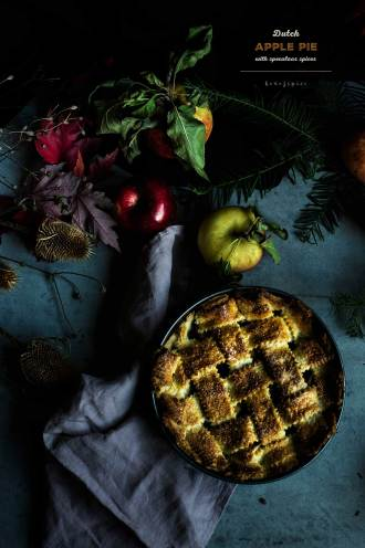 Dutch Apple Pie with Speculaas Spices I Boxofspice