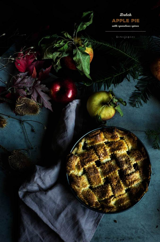 Apple Pie with Speculaas Spices