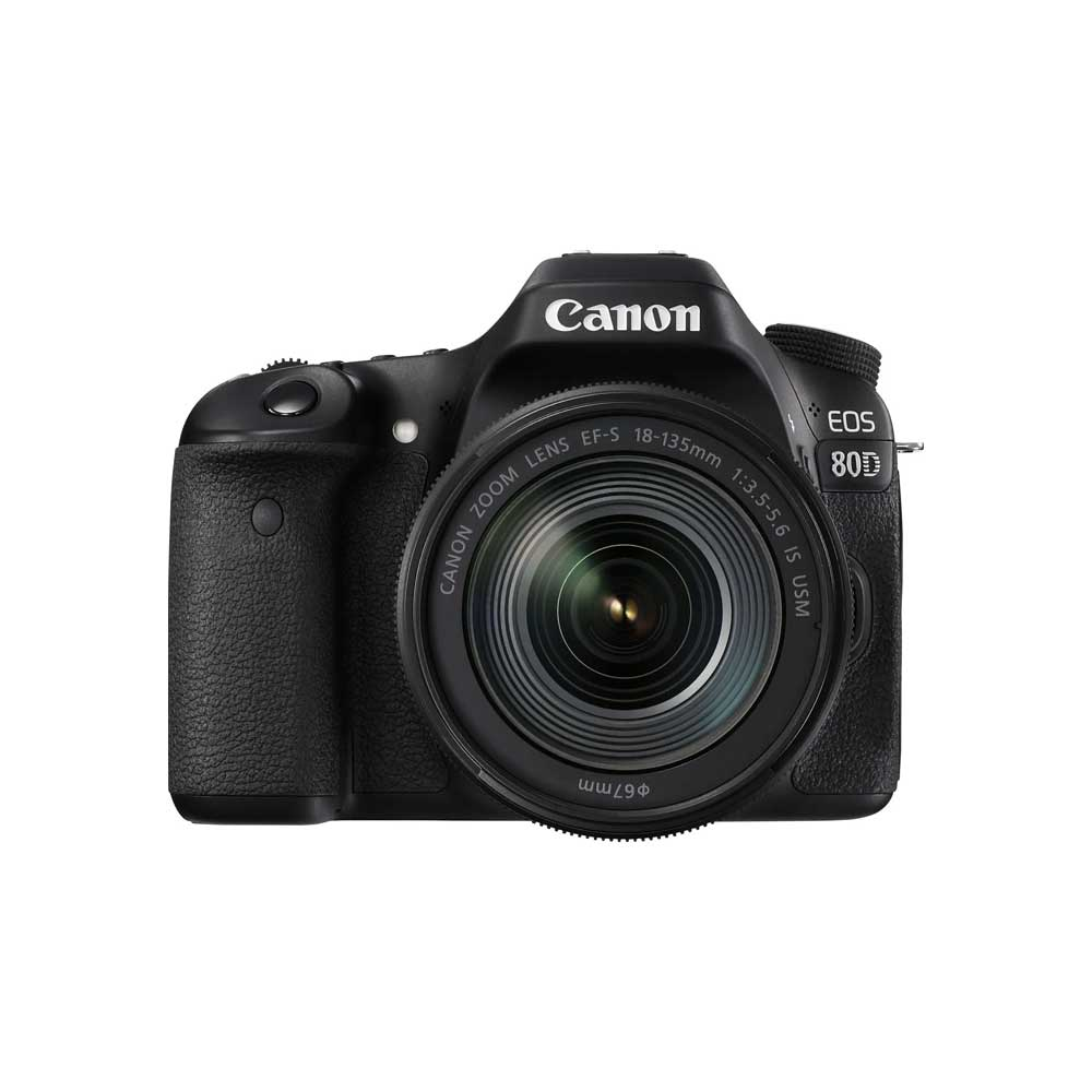 Canon EOS 80D Digital SLR with 18-135mm IS USM Lens