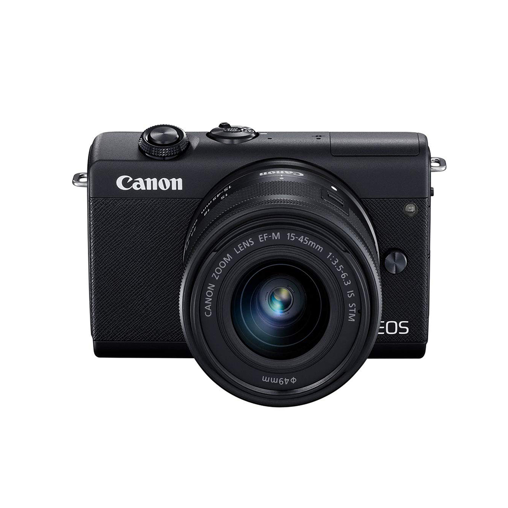 Canon EOS M200 -Black with EF-M 15-45mm Lens