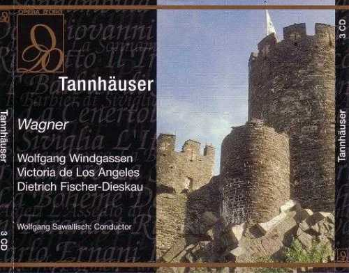 Wolfgang Sawallisch - Wagner: Tannhauser (3CD boxset, APE)