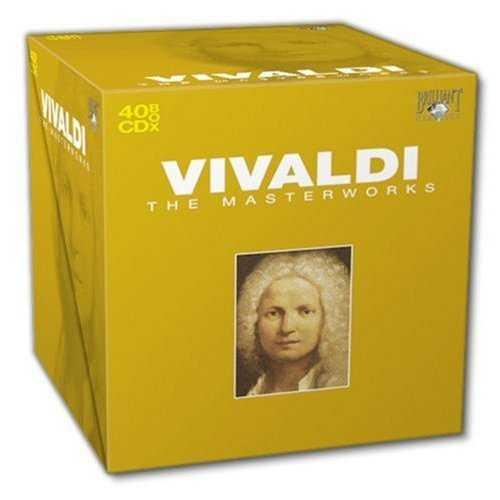 Vivaldi - The Masterworks (40 CD box set, FLAC)