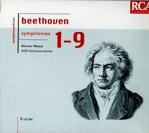 Wand: Beethoven - Symphonies (5 CD box set, FLAC)